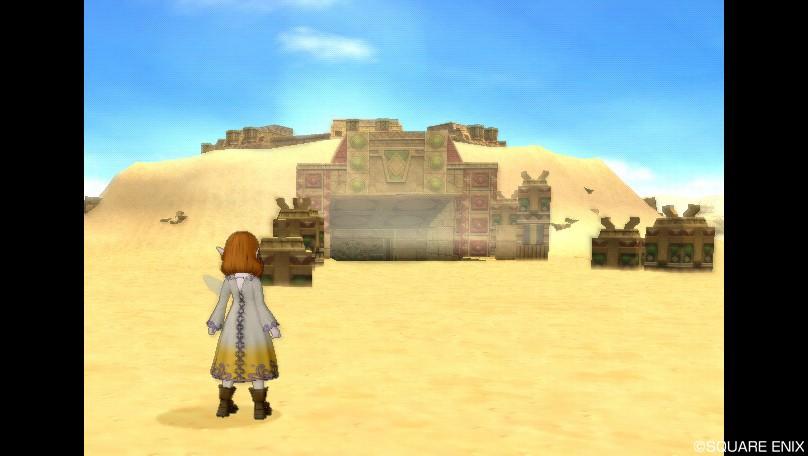 ゴブル砂漠西2
